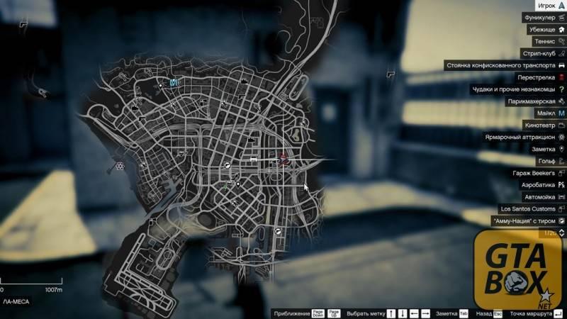 Офис агентов на карте