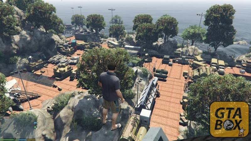 Изучение острова в GTA 5