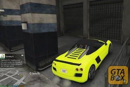 Новый автомобиль Майкла