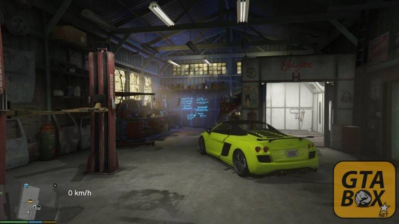 Гараж из игры Need for Speed