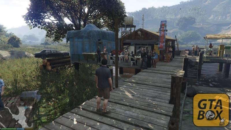 Старая яхта Тревора