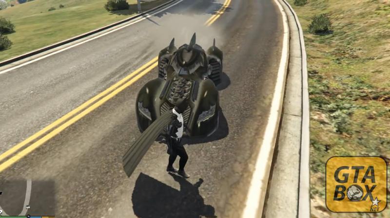 Бэтмобиль в игре