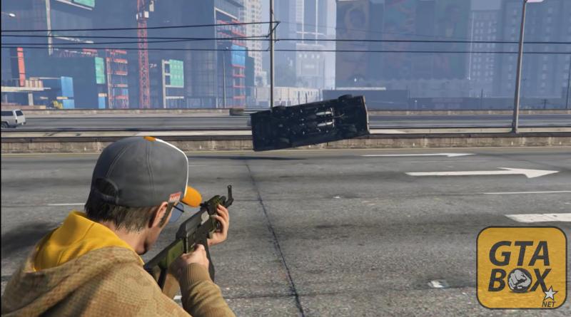 Искусственный переворот машины в игре