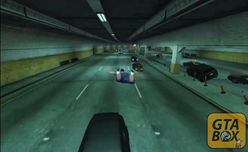 Полет в туннеле