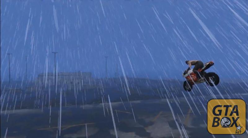 Дождь в игре