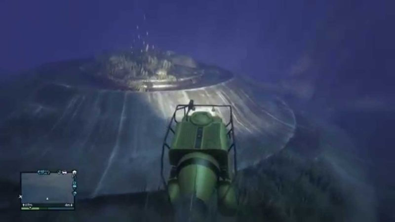 Затонувший космический корабль